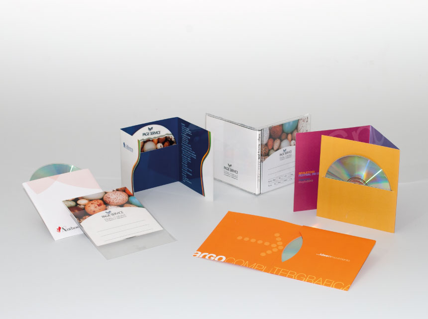 Custodie CD/DVD - Packaging - Page Service - pageservice.it