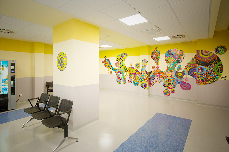 Sala d'aspetto Ospedale Gemelli - Page Service - pageservice.it