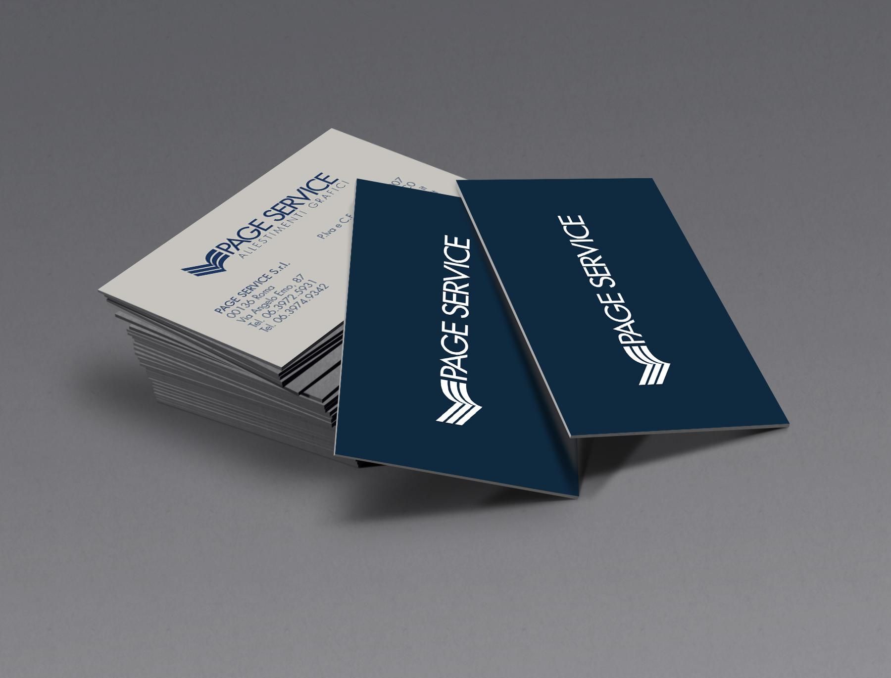 Biglietti da visita - Page Service - pageservice.it